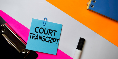 courttranscript